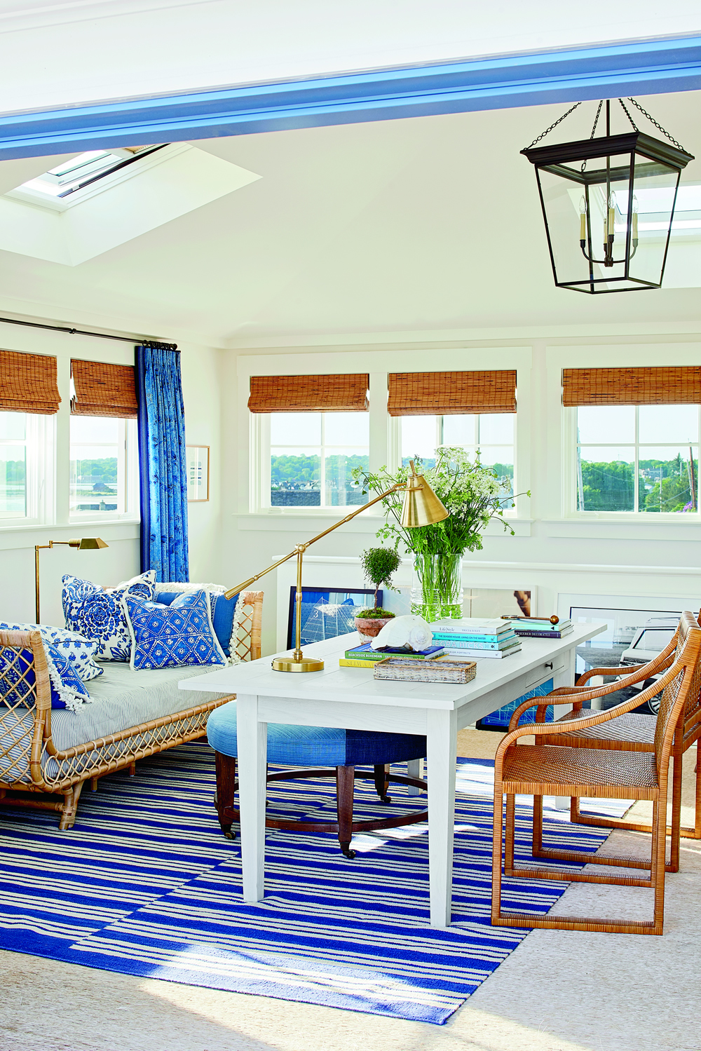 china seas antik batik curtains mark d sikes coastal living. Black Bedroom Furniture Sets. Home Design Ideas