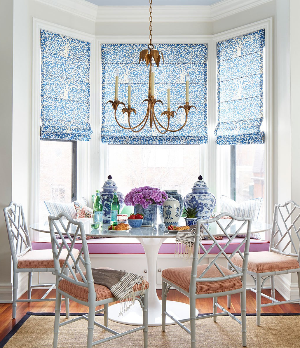 China seas arbre de matisse reverse window shades by for Summer thornton design