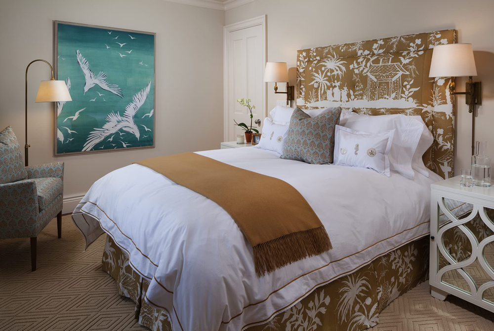 China Seas Lyford Background bed by McCann Design Group