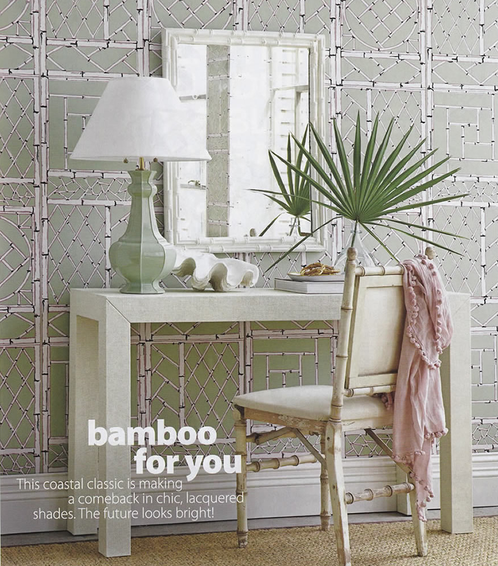China Seas Lyford Trellis Wallpaper In Coastal Living