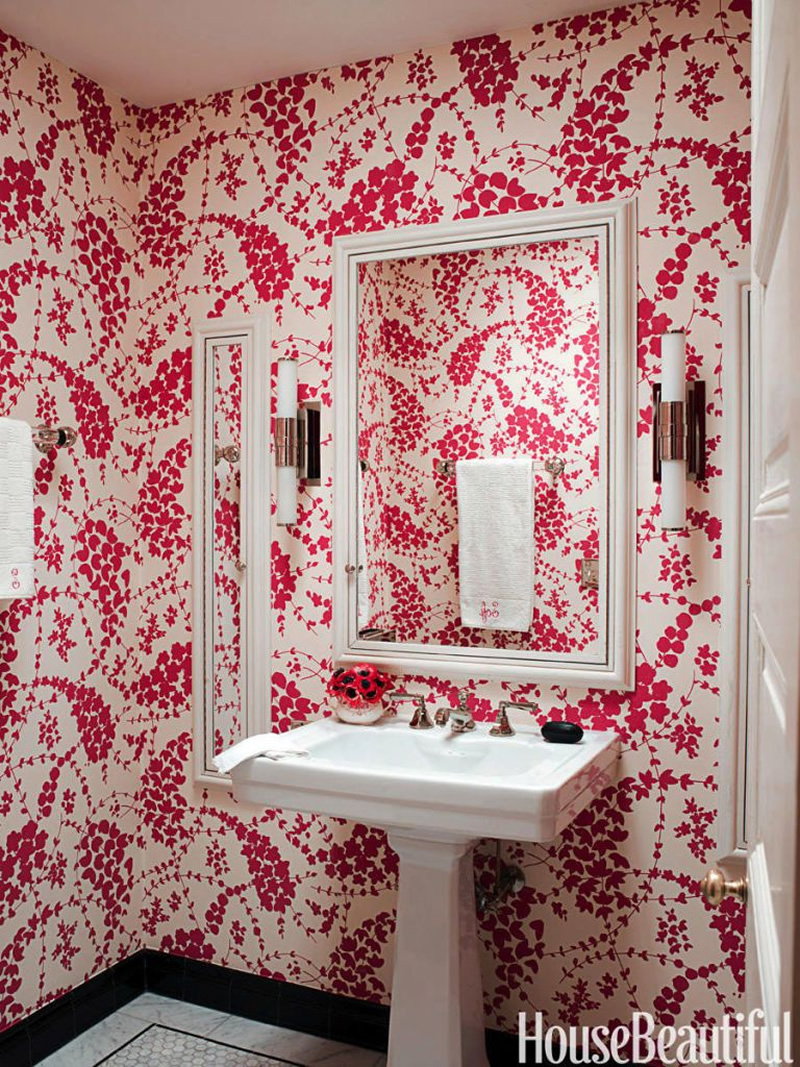 China Seas Lysette wallpaper in House Beautiful