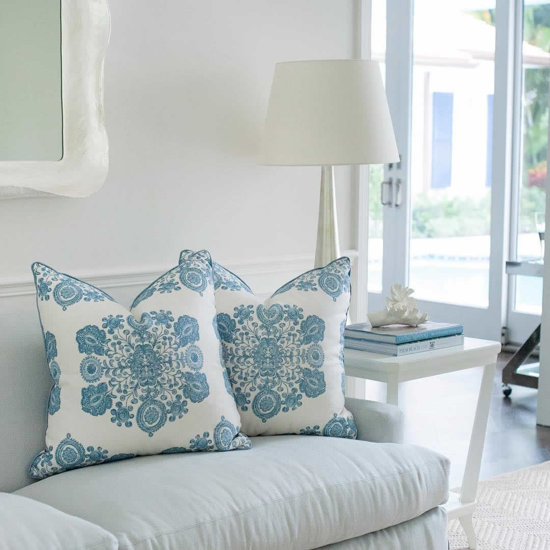 Home Couture Melanie Scrll Pillows McCann Design Group