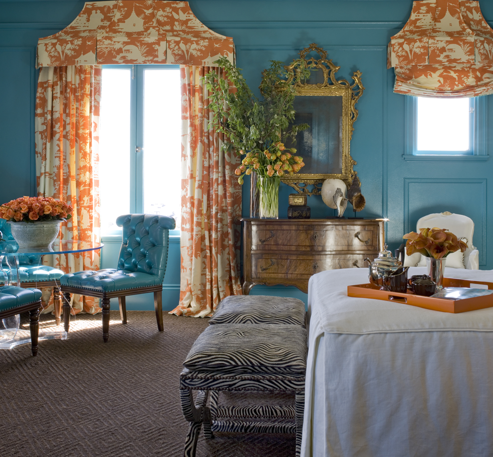 Home Decorator Collections Quadrille Paradise Background Curtains By Kendall
