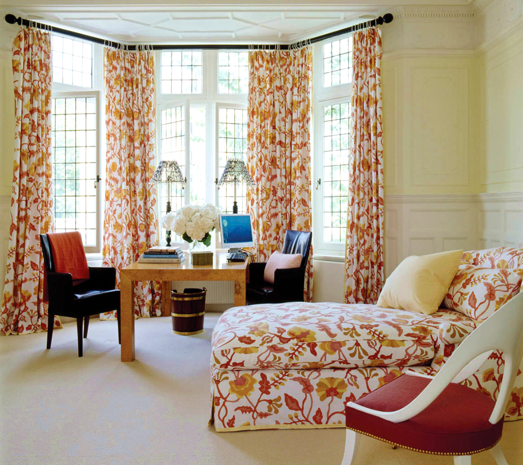 Jeffrey Bilhuber Campbell Potalla Curtains And Loungejeffrey Bilhuber