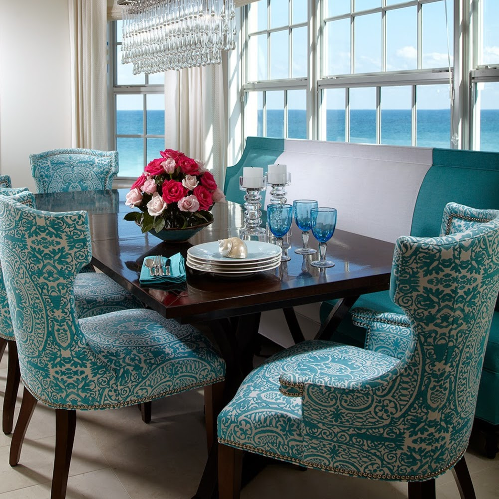 Beautiful Quadrille Veneto Chairs By Pineapple House. Interior Design ...