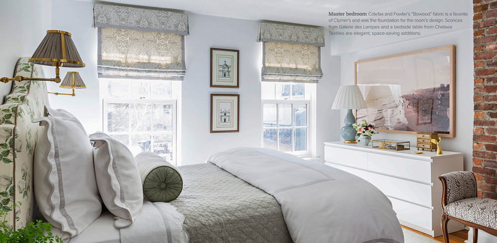 Quadrille Veneto window shades by Henry and Co in Traditional Home Spring 2015