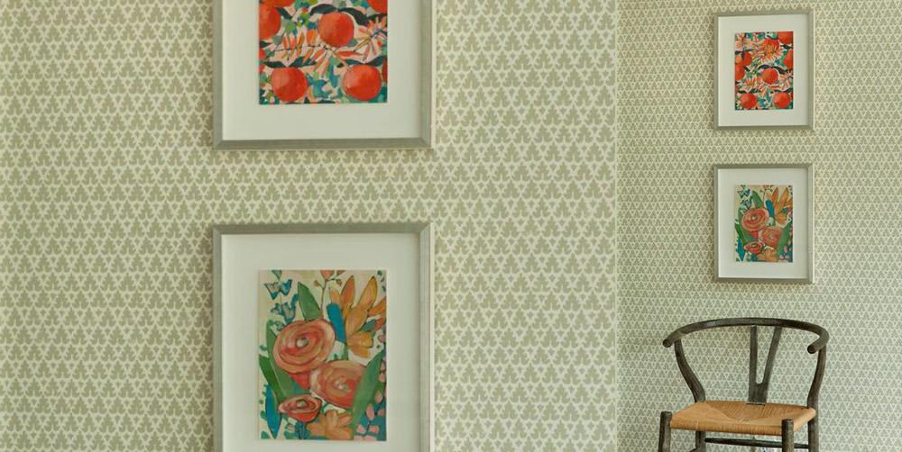 Quadrille Volpi Wallpaper