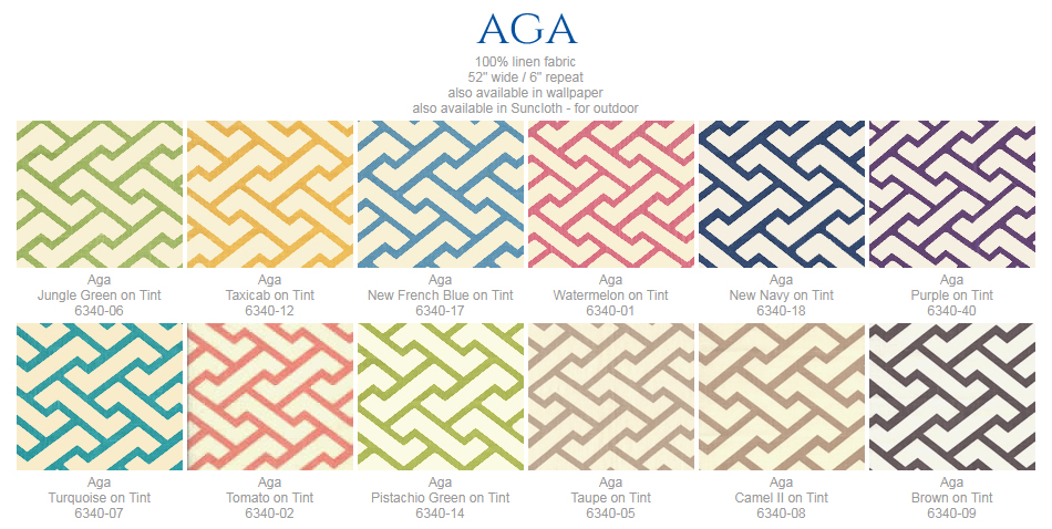 China Seas Aga fabric group
