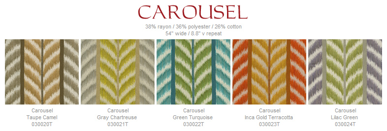 Quadrille Carousel fabric group