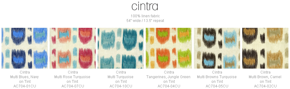 Alan Campbell Cintra fabric group