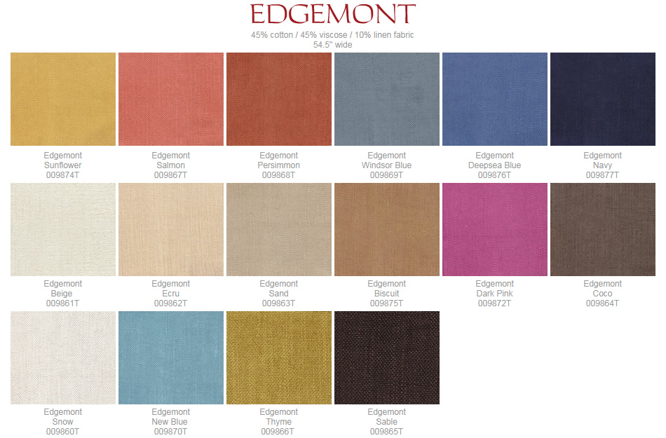 Quadrille Edgemont fabric group