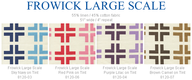 China Seas Frowick Large Scale fabric group
