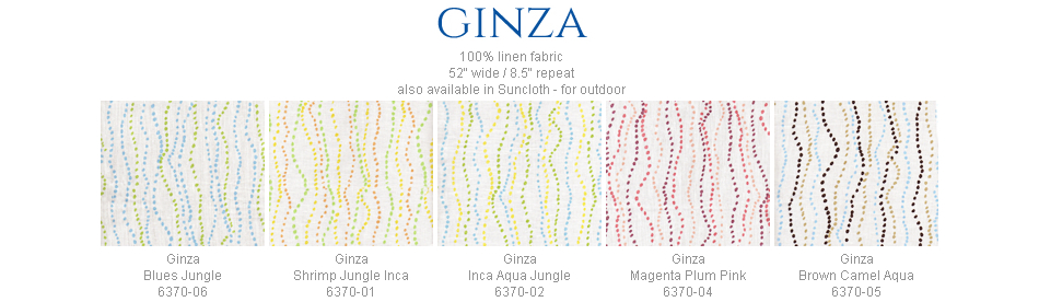 China Seas Ginza fabric group