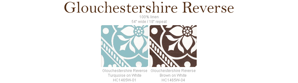 Home Couture Glouchestershire Reverse fabric group