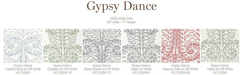 Home Couture Gypsy Dance fabric group