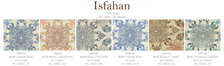Home Couture Isfahan fabric group