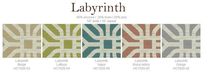 Home Couture Labyrinth fabric group