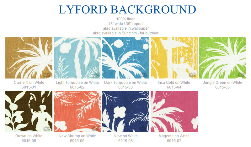 China Seas Lyford Background fabric group
