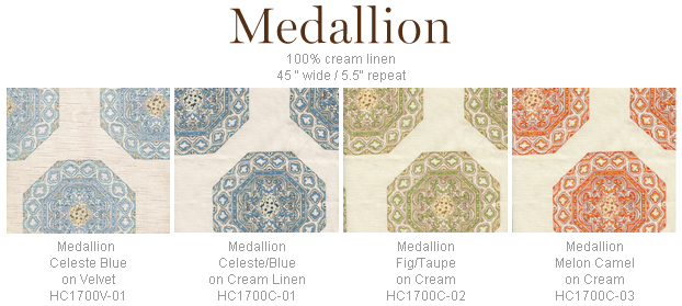 Home Couture Medallion fabric group