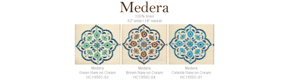 Home Couture Medera fabric group