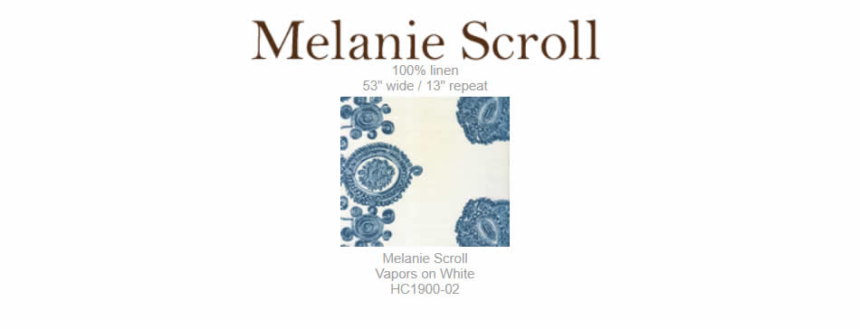Home Couture Melanie Scroll fabric group