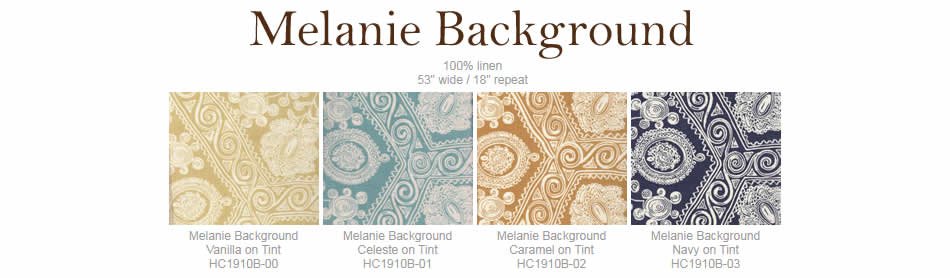 Home Couture Melanie Background fabric group