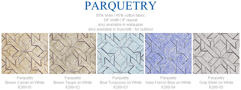 China Seas Parquetry fabric group