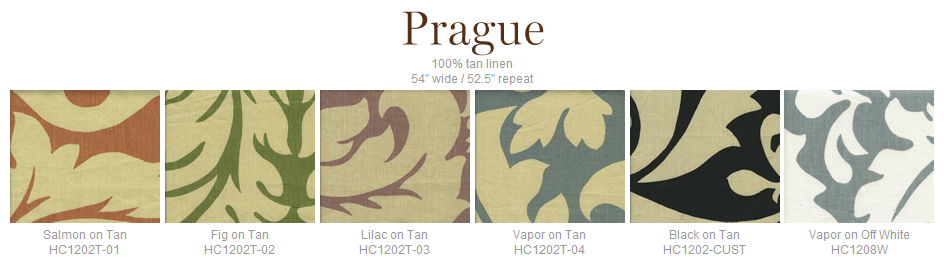 Home Couture Prague fabric group