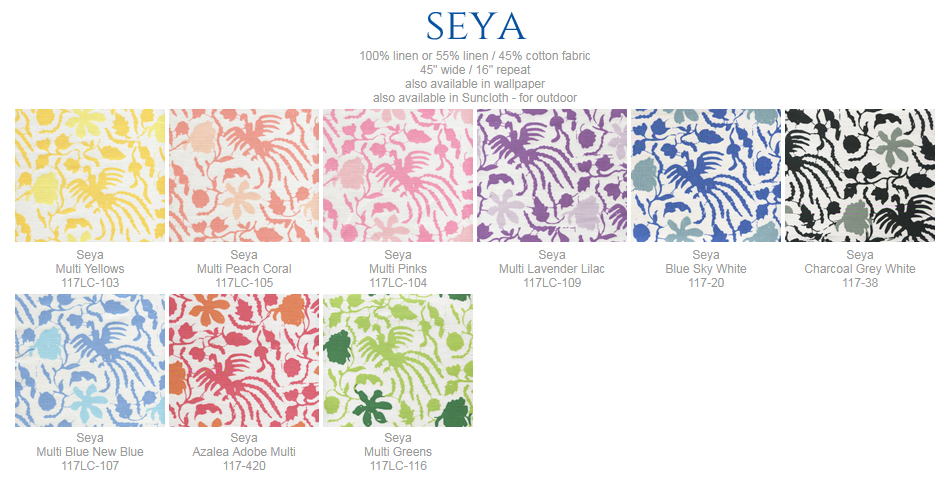 China Seas Seya fabric group