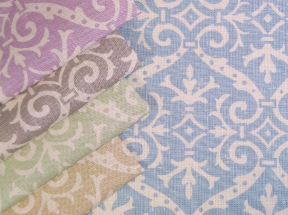 Quadrille French Damask Reverse product shot
