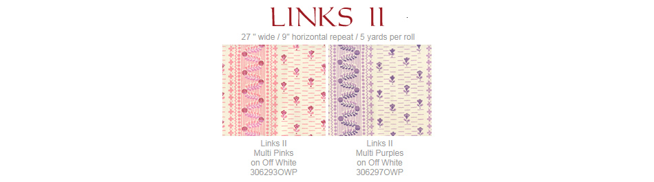 Quadrille Links II wallpaper group
