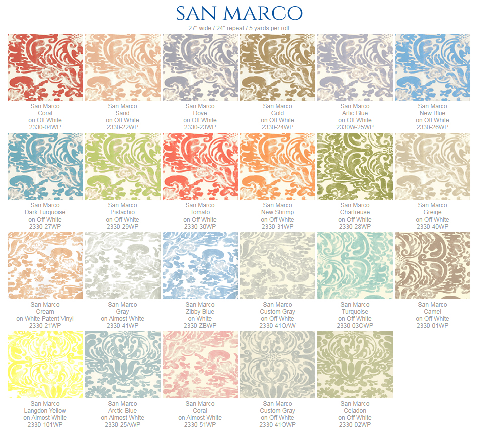 China Seas San Marco wallpaper group