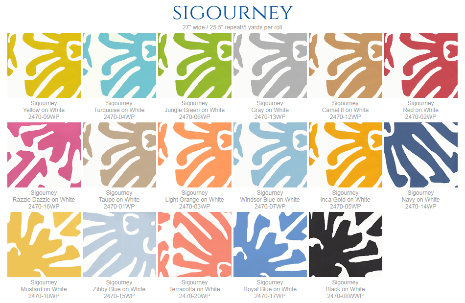 China Seas Sigourney wallpaper group
